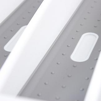 Expanding Drawer Organiser Cutlery Tray 6-8 Hole - White alt image 5