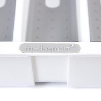 Expanding Drawer Organiser Cutlery Tray 6-8 Hole - White alt image 6