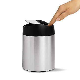 simplehuman Swing Lid Tabletop Kitchen Waste Bin - 1.5L alt image 2