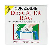 3 Quickshine Kettle Limescale Descaler Sachets