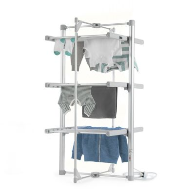 Dry Soon 3 Tier Heated Airer Electric Clothes Airers
