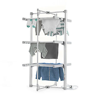 Clothes horse heated towel rail