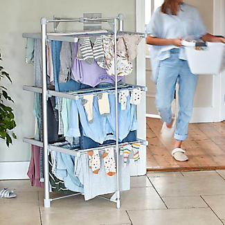 Dry:Soon 3-Tier Heated Airer alt image 2