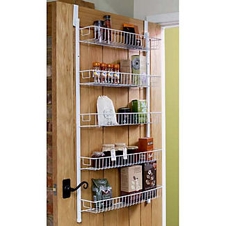 Admirable Overdoor Storage Rack Reviews Lakeland Interior Design Ideas Gresisoteloinfo