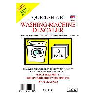 Quickshine Washing Machine Descaler Tablets
