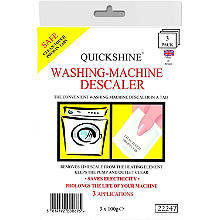 Quickshine Washing Machine Descaler Tablets