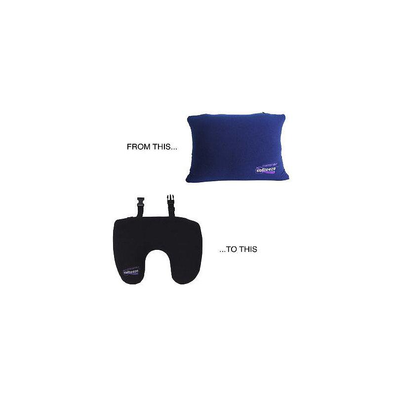 Convertible Softeeze Travel Pillow