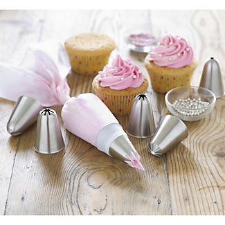 Professional Piping Set - 7 Nozzles and 1 Piping Bag alt image 2