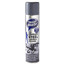 House Mate Stainless Steel Clean & Polish Spray 400ml