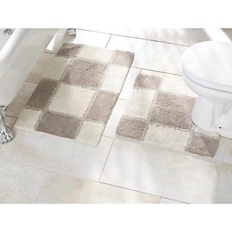 Soft Squares Bath Mat