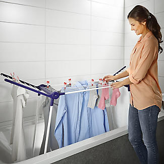 Leifheit Pegasus 120 Compact Winged In-Bath Airer alt image 3