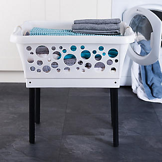 Laundry on Legs Laundry Basket with Folding Legs 45L alt image 2