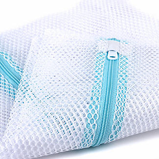 2 White Mesh Net Washing Bags - Large alt image 4
