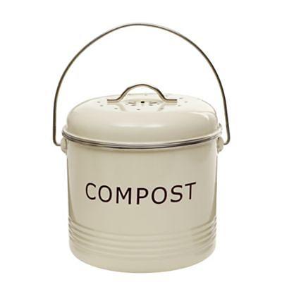 worktop compost bin cream lakeland. Black Bedroom Furniture Sets. Home Design Ideas