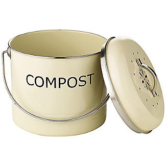 Worktop Compost Bin Cream 3.5L alt image 2