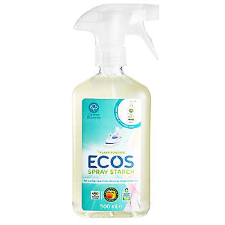 Earth Friendly Anti Static Laundry Starch Spray 500ml alt image 1