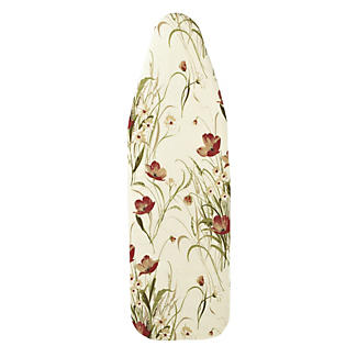 Reversible Quick-Fit Ironing Board Cover - Poppies alt image 1
