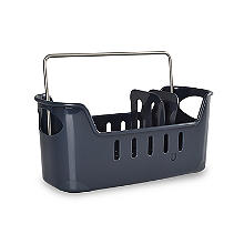 Large Sink Tidy Dark Grey