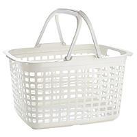 Laundry Tote Standard Plastic Washing Basket 25L
