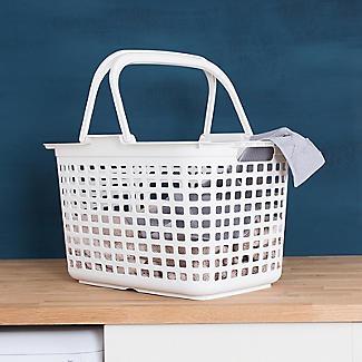 Laundry Tote Standard Plastic Washing Basket 25L alt image 4