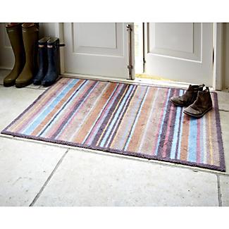 Extra Large  Heirloom Stripe Turtle Mat