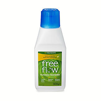 Free Flow Plughole Cleaner and Freshener 300g