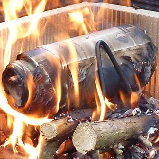 LogSaver Newspaper Burners for Real Fires x 2 alt image 5
