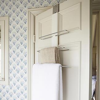 Oxo Good Grips Over The Door Towel Rack Lakeland