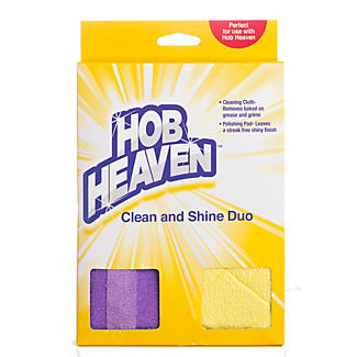 Hob Heaven Clean and Shine Duo Ceramic Hob