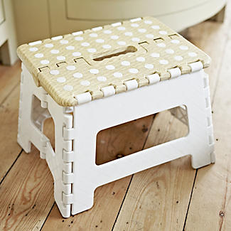 Basket Print Folding Step-Stool alt image 3