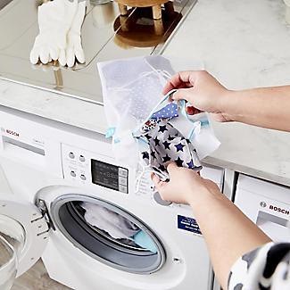4 White Mesh Net Washing Bags - Various Sizes alt image 7