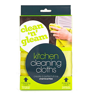 Clean and Gleam Kitchen Cleaning & Polishing Cloth alt image 3