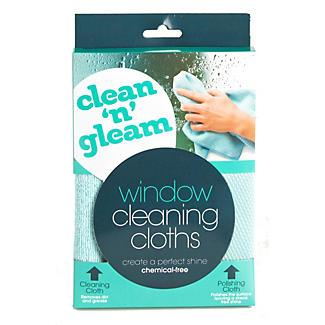 Clean & Gleam Glass Window Cleaning & Polishing Cloth alt image 3