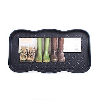 Lakeland Muddy Boot & Shoe Plastic Tray - Holds 3 Pairs alt image 2