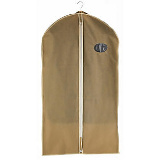 Kleidersack mit Reißverschluss für Anzüge & Hemden