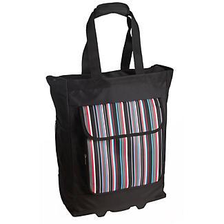 Stripe Wheelie Bag
