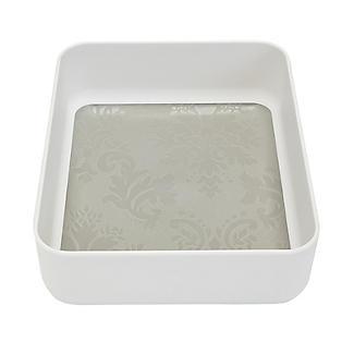 Stay Put Drawer Organiser Individual Utensil Tray - Small White alt image 4
