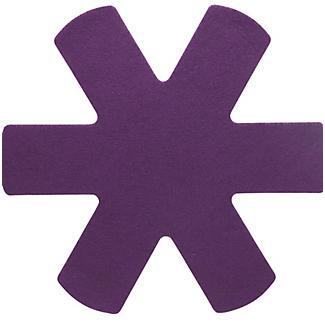 3 Anti Scratch Kitchen Pan Protectors - Purple
