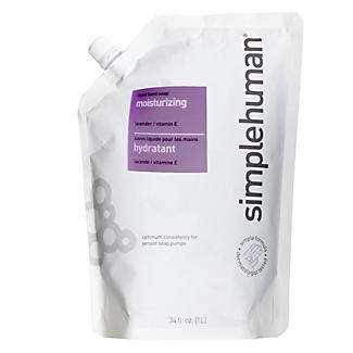 simplehuman Filled Soap Pump Moisturising Lavender Refill