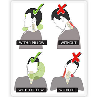 J Pillow Travel Pillow alt image 5