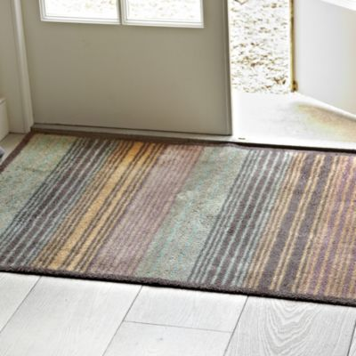 Turtle Mat Extra Large Gradient Stripe Indoor Floor Mat | Lakeland