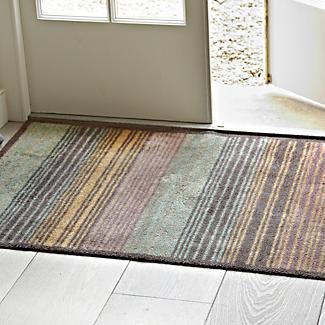 Turtle Super-Absorbent Indoor Floor & Door Mat Stripe - 118 x 75cm