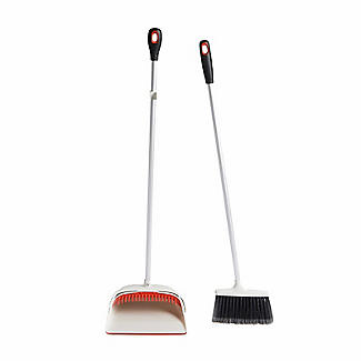 OXO Good Grips Upright Dustpan and Brush Sweep