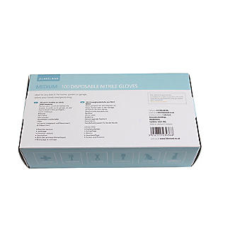 100 Medium Disposable Nitrile Gloves alt image 3