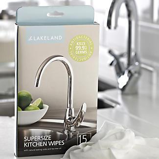 15 Supersize Kitchen Wipes