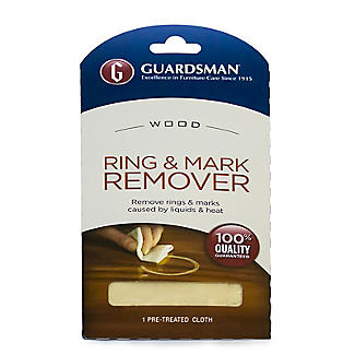 Guardsman Water Ring Remover Cloth Wooden Surfaces Lakeland