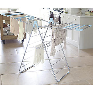 Foldable Winged Indoor Clothes Airer Deluxe 13m alt image 2