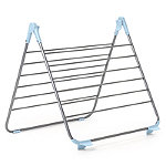 Over-Bath Foldable Indoor Clothes Airer  Deluxe 10m