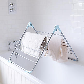 Over-Bath Foldable Indoor Clothes Airer  Deluxe 10m alt image 2