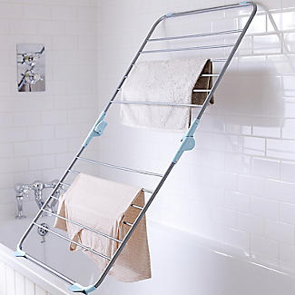 Over-Bath Foldable Indoor Clothes Airer  Deluxe 10m alt image 3